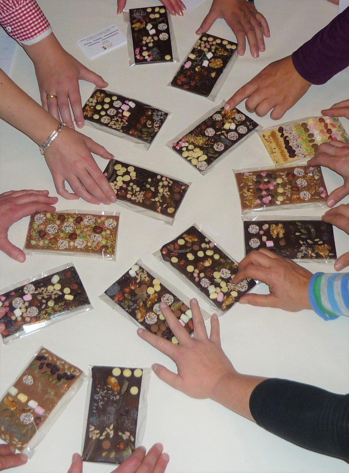 JLF fertige Schokolade
